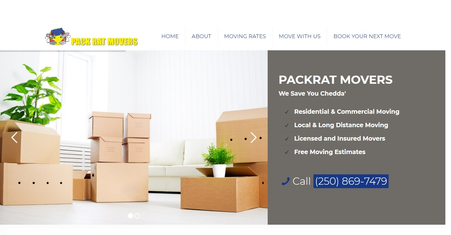 Packrat Movers Kelowna (@kelownamoving) Cover Image