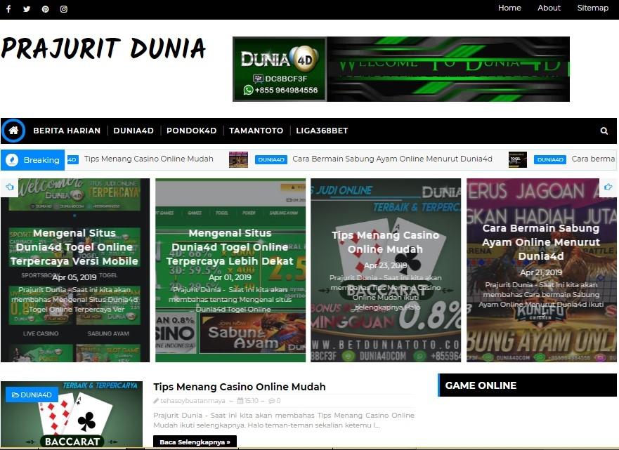 Prajuritdunia (@prajuritdunia) Cover Image