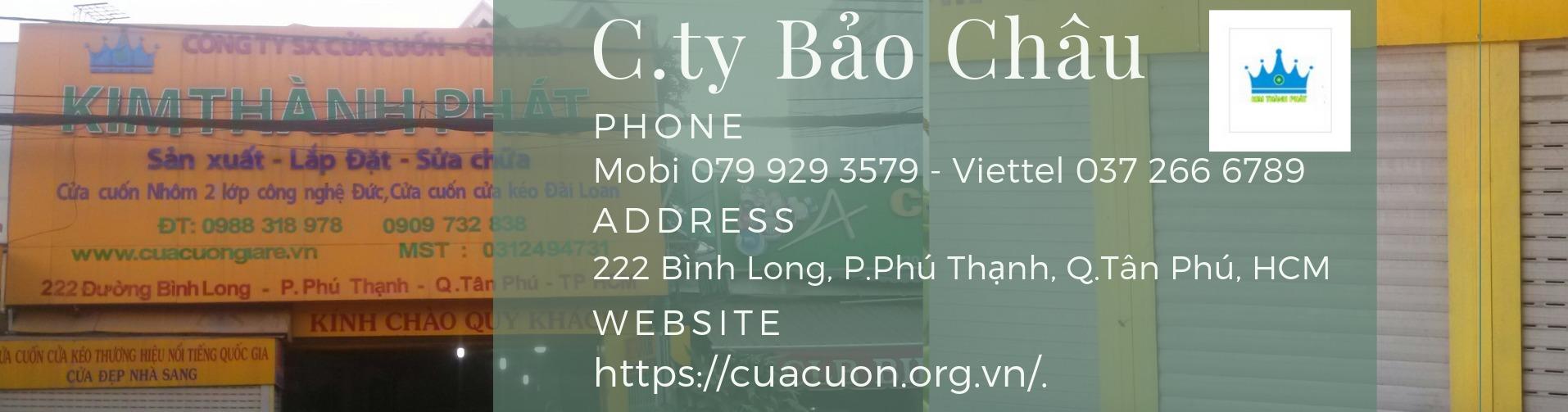 Cong Ty Cua Cuon TNHH TM-SX-DV Bao Chau (@cuacuonbaochau) Cover Image