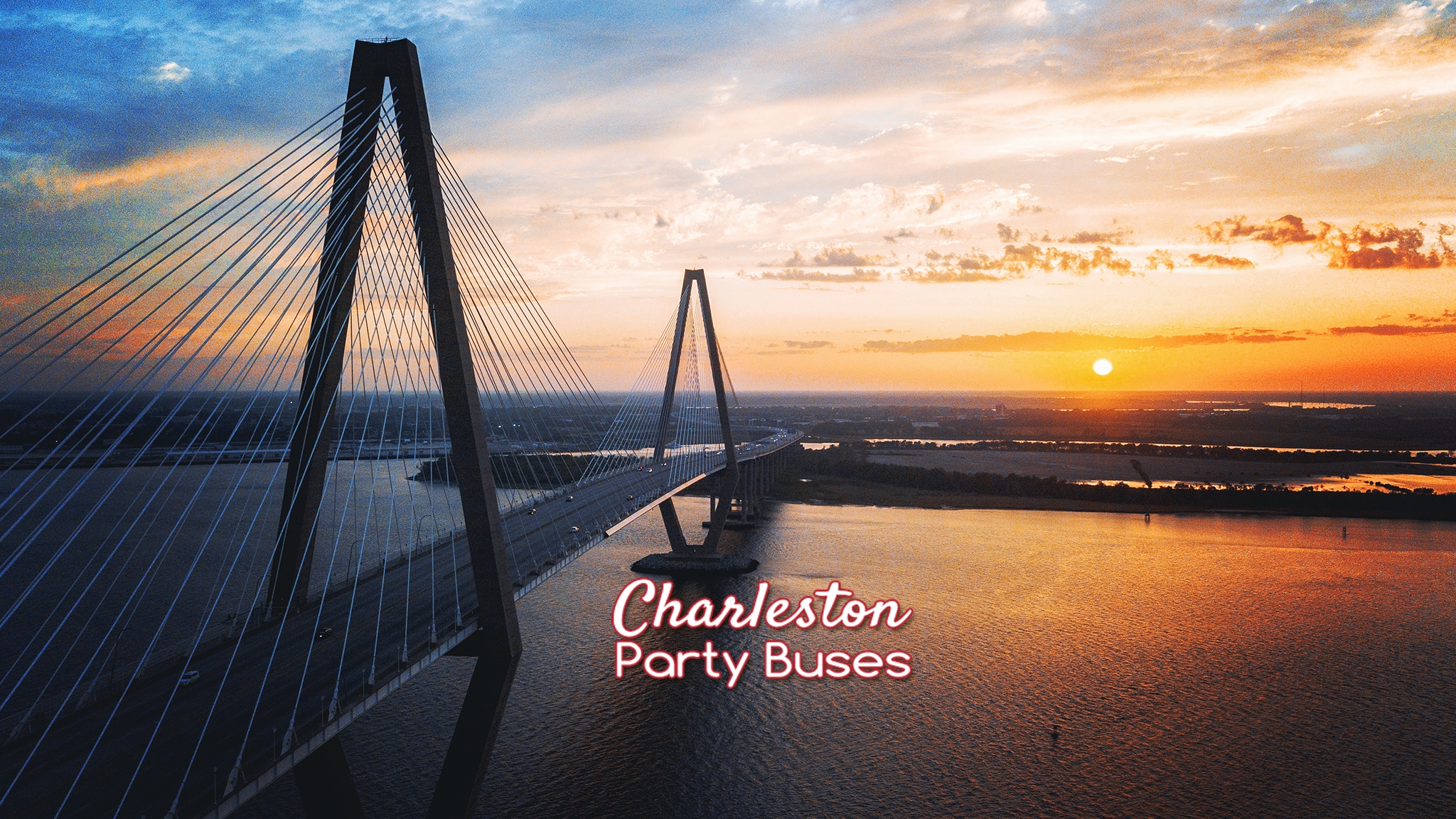 Charleston Party Buses  (@charlestonpartybusessc) Cover Image