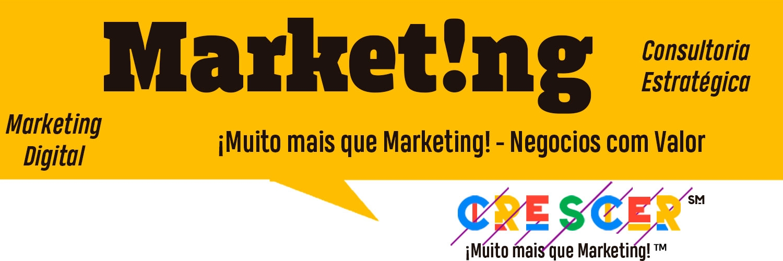Digital Marketing, Social Media Agency Strategic (@crecer) Cover Image