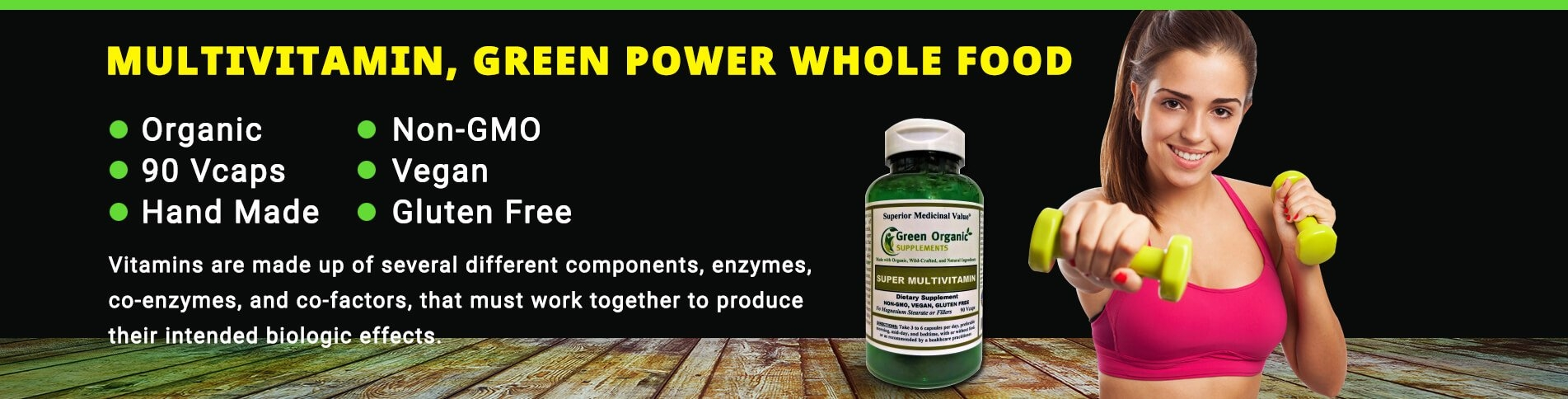 Green Organic Supplements, Inc (@greenorganicsupplements) Cover Image