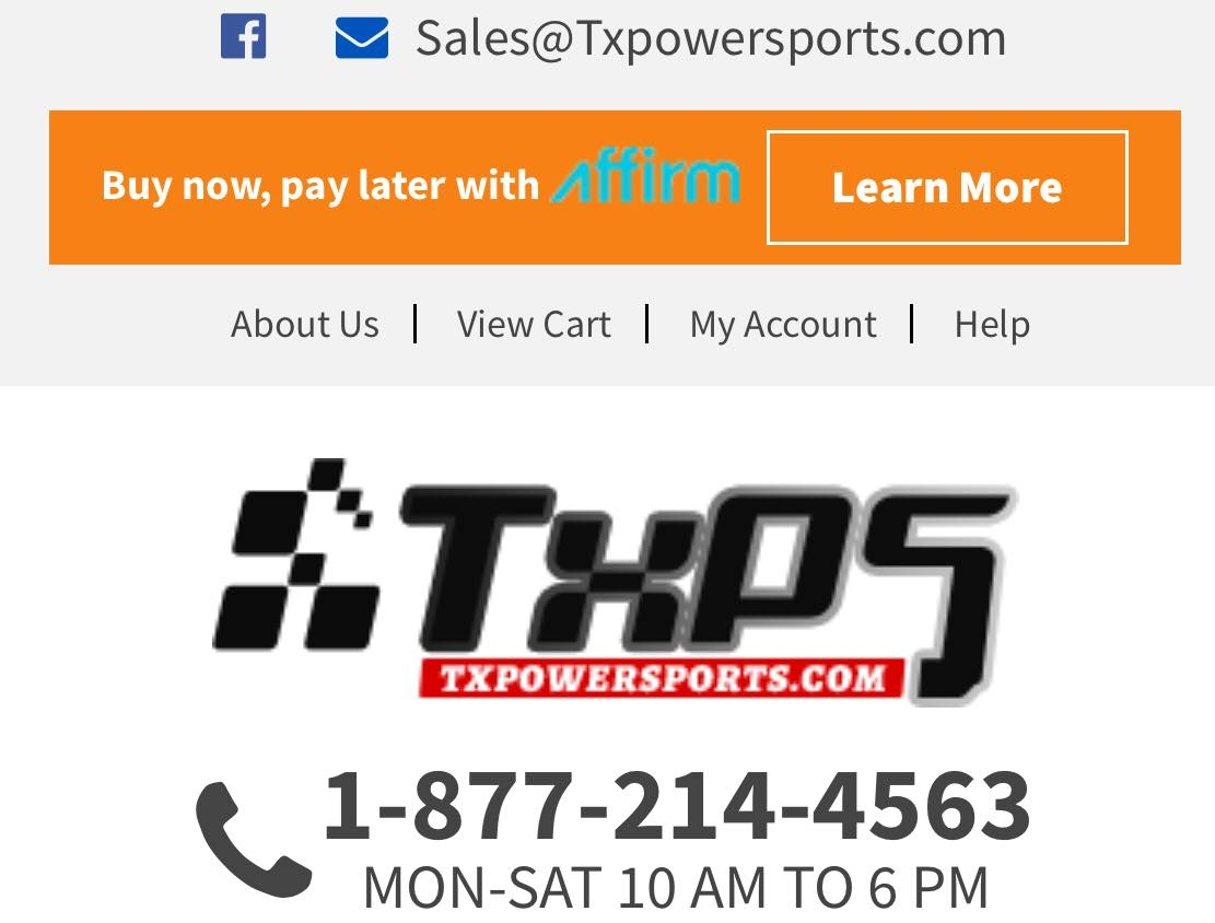 TX Power Sports (@txpowersports) Cover Image