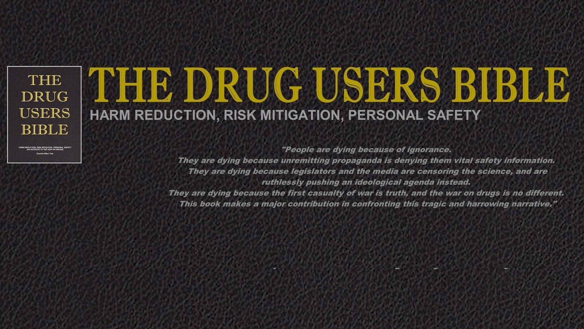 Dominic Milton Trott (@drugusersbible) Cover Image