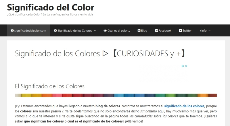 Significado de los Colores (@significadocolor) Cover Image