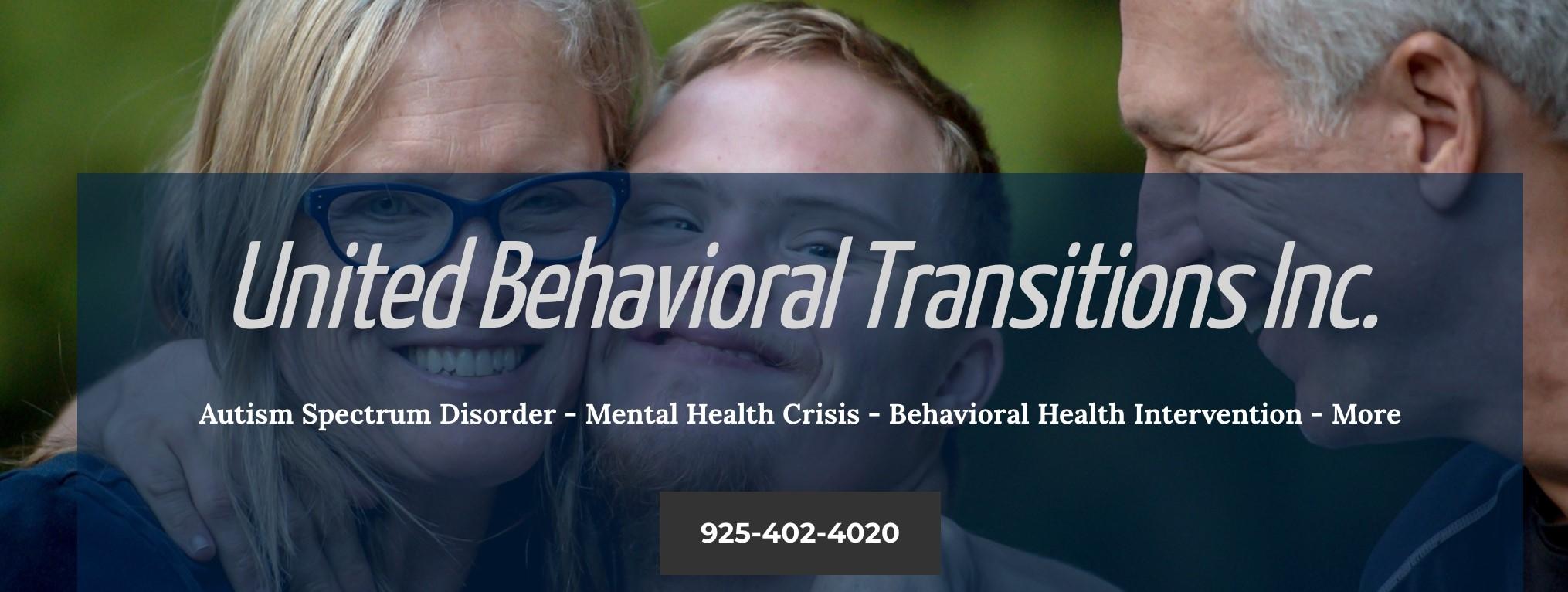 United Behavioral Transitions Inc (@unitedbehavioraltransitionsinc) Cover Image