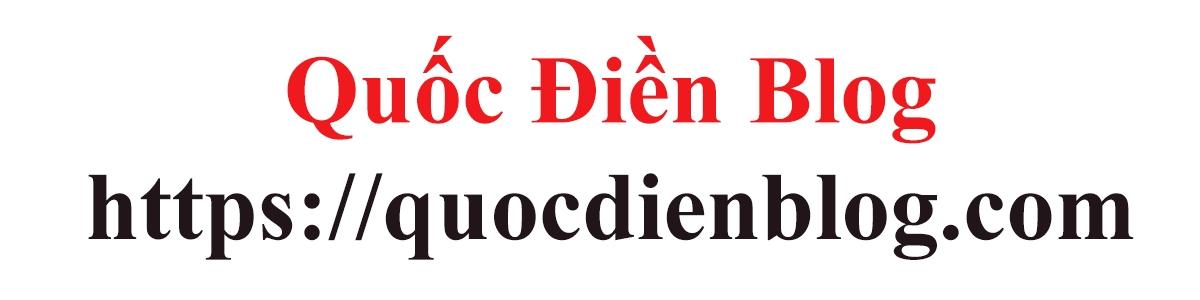 Quốc Điền Blog (@quocdienblog) Cover Image