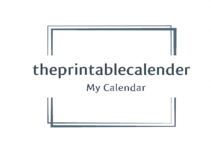 The Printable Calender (@theprintablecalender) Cover Image