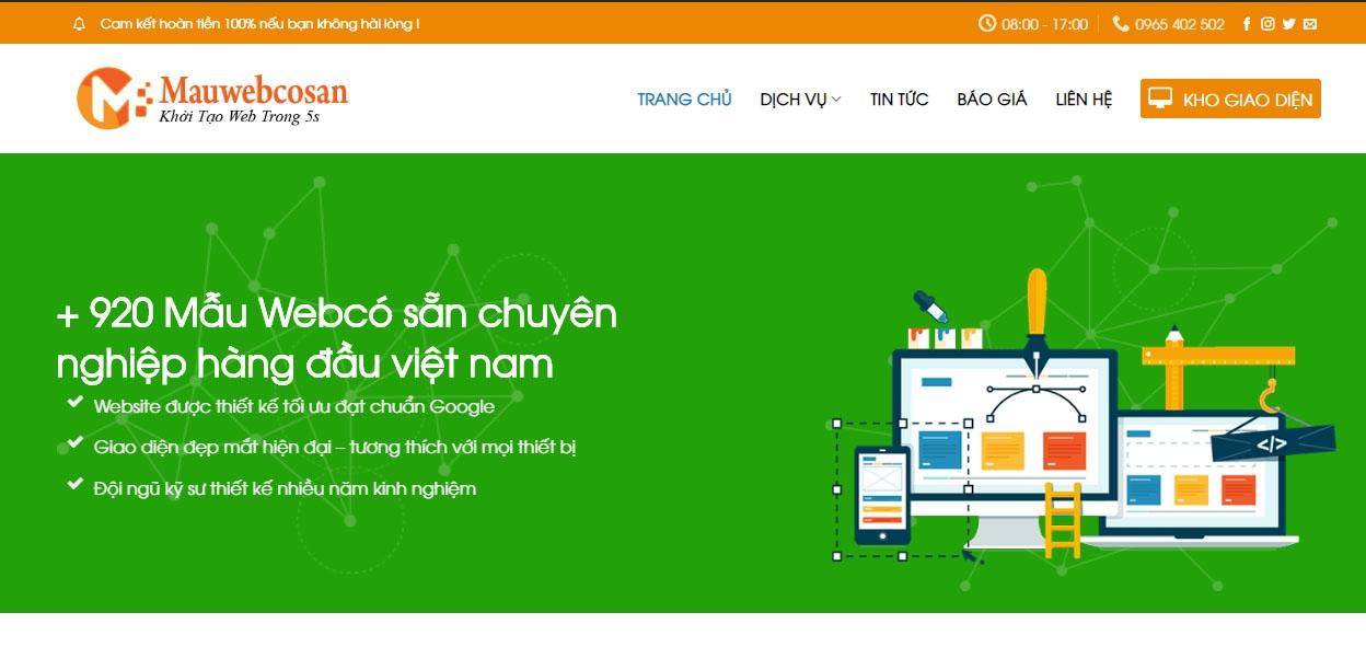 Mẫu Web Có Sẵn (@mauwebcosan) Cover Image
