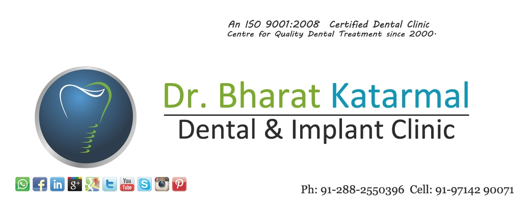 Dentist in Jamnagar (@drbharatkatarmal) Cover Image