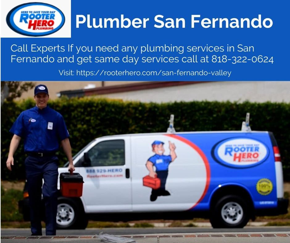 Rooter Hero Plumbing of San Fernando (@plumbingsanfernando) Cover Image