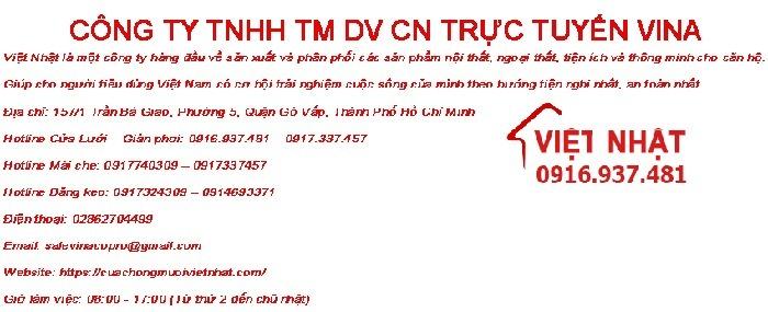 Việt Nhật | CÔNG TY TNHH TM DV CN TRỰC TUYẾN VINA (@cuachongmuoivietnhat) Cover Image