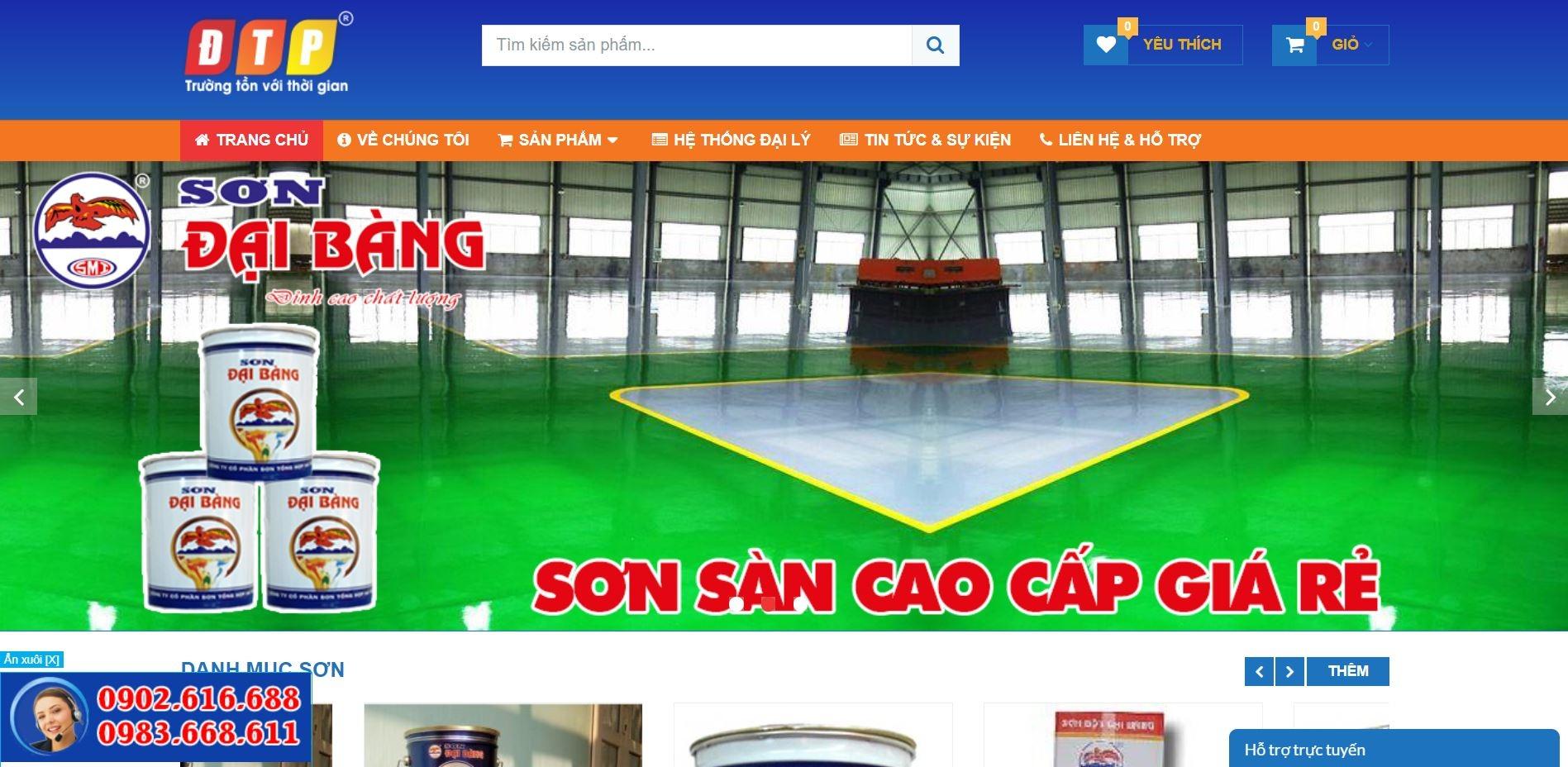 Đại lý Sơn Đại Bàng (@dailysondaibang) Cover Image