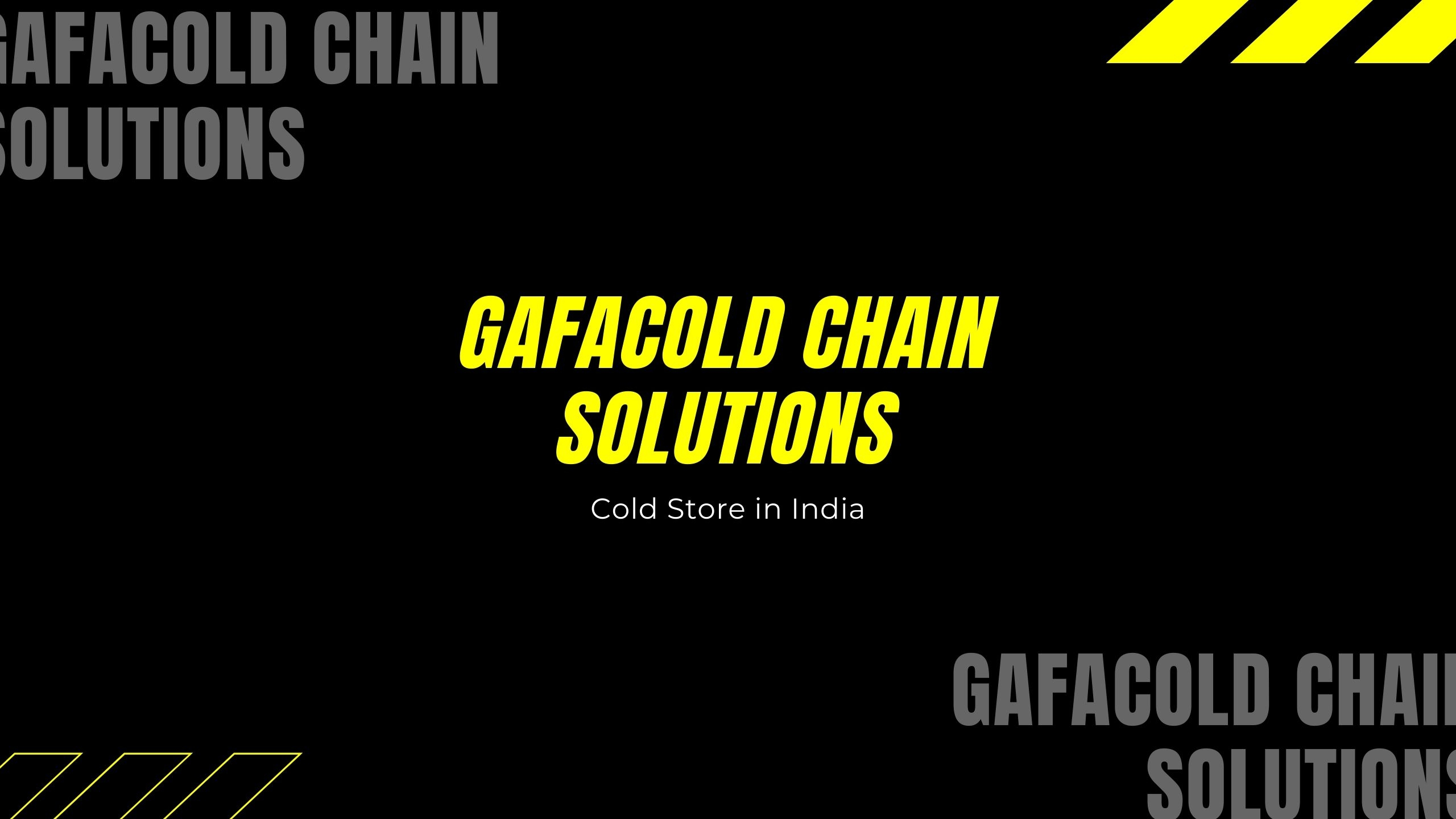 Gafacold Chain Solutions (@gafacoldchainsolutions) Cover Image