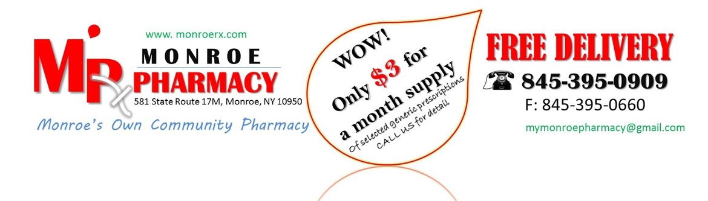 Monroe Pharmacy (@monroerx) Cover Image
