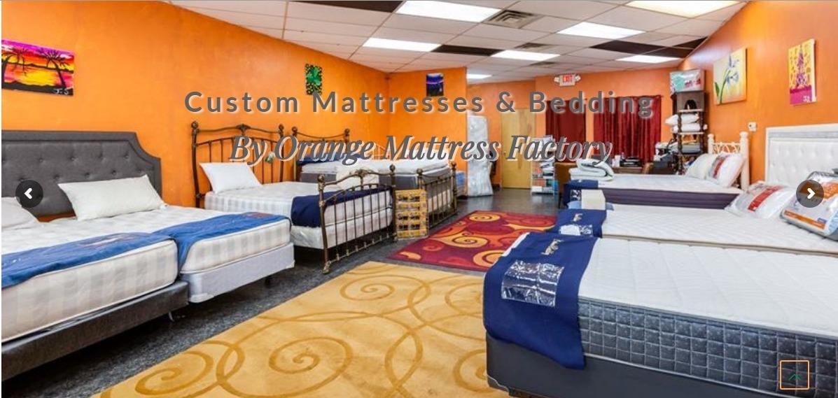 Orange Mattress Custom Bedding (@custombeddings) Cover Image