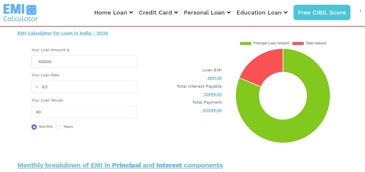 Interest rate calculator (@interest_rate_calculator) Cover Image