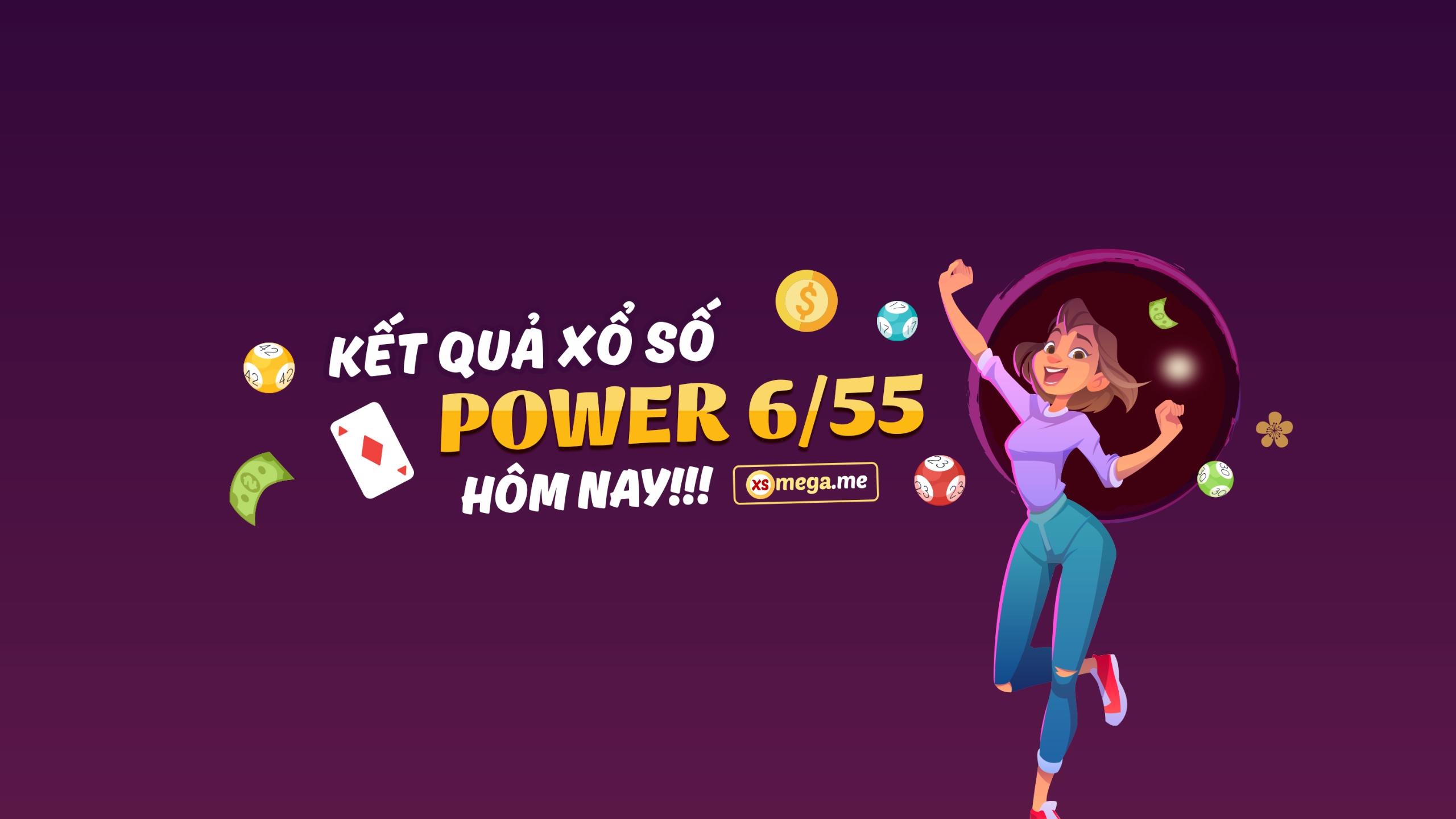 Xổ số 655 - Vietlott 6.55 - Kết quả Vietlott Power (@xspower) Cover Image