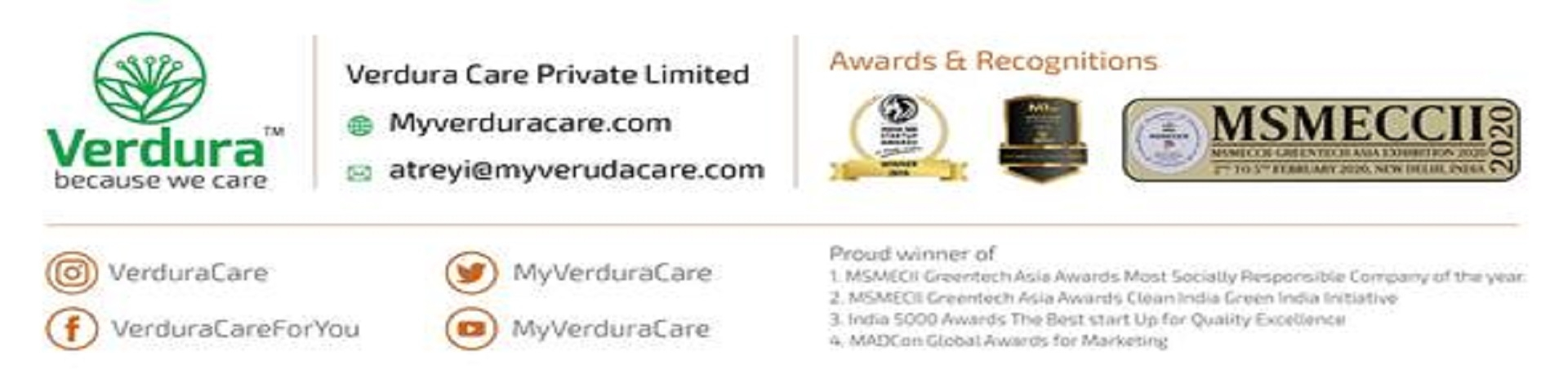 Verdura Care Private Limited (@myverduracare) Cover Image