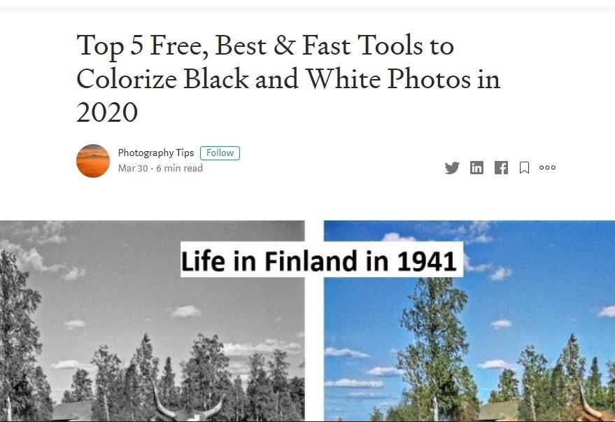 colourize photo (@colourize_photo) Cover Image
