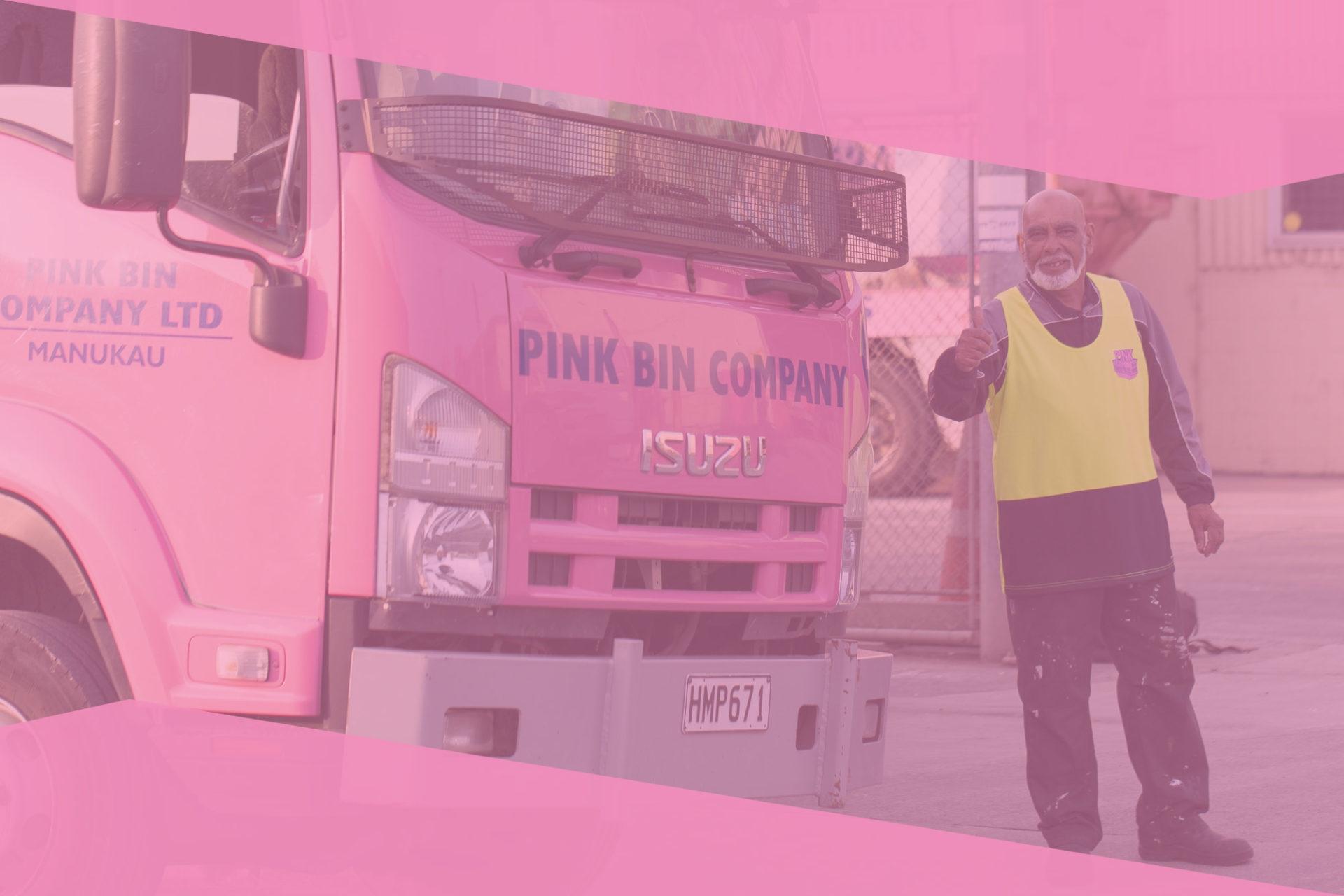 Pink Bins Auckland   Skip Bin Hire Delivery Servic (@pinkbinsmanukau) Cover Image