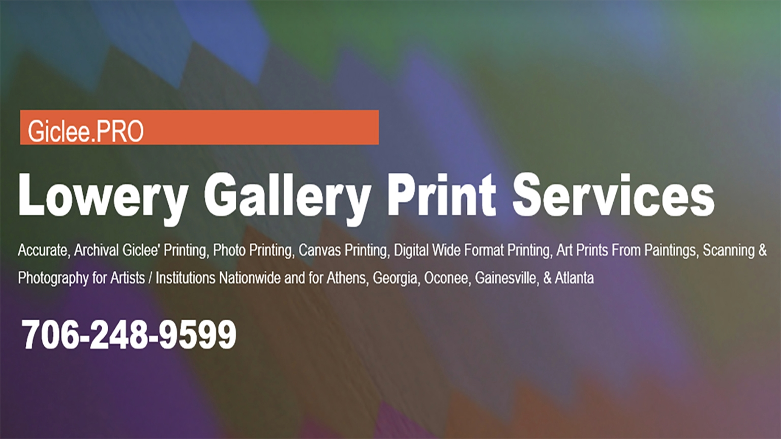 Robert Lowery (@lowerygalleryprintservices) Cover Image