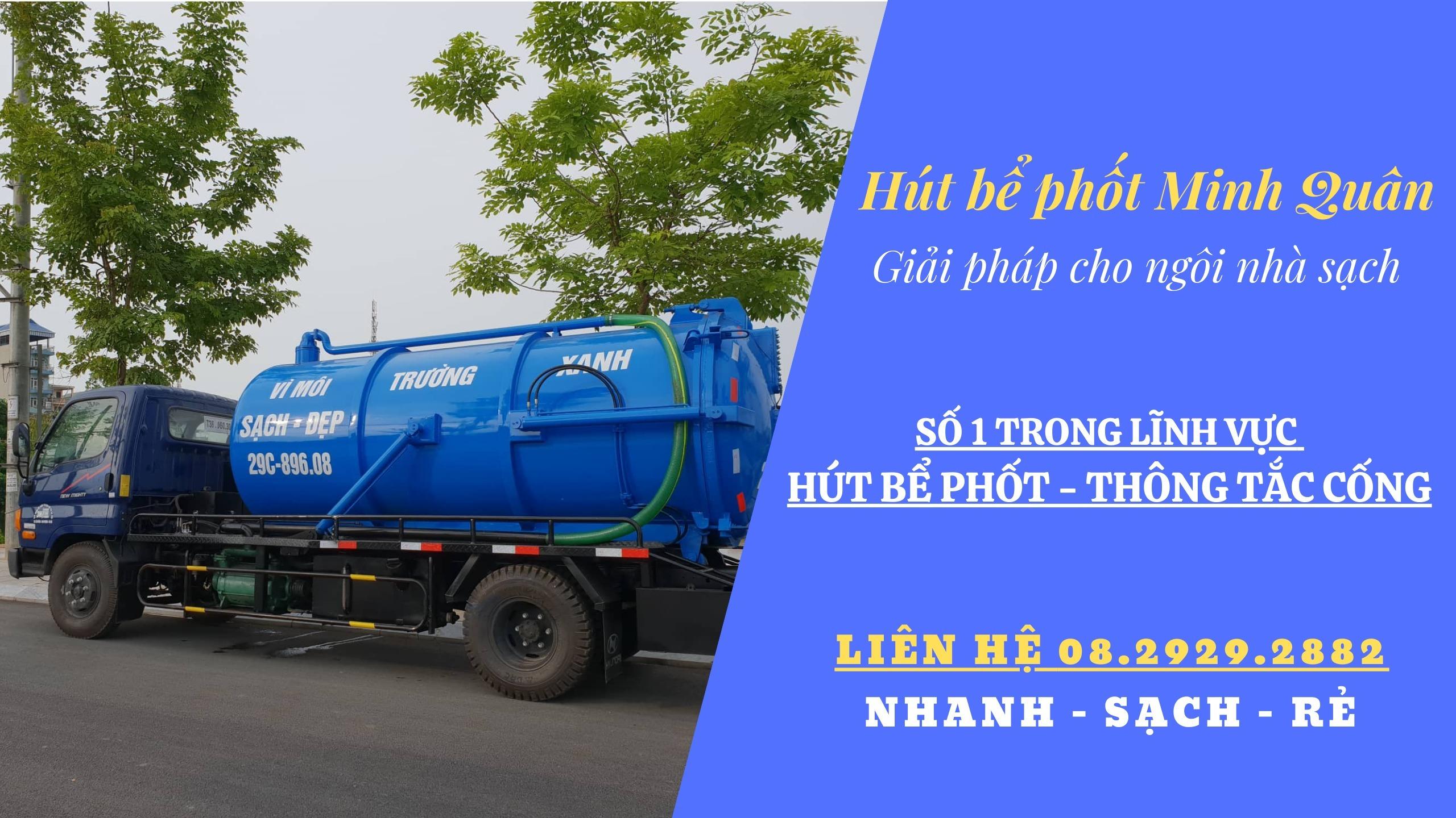 Hút Bể Phốt Minh Quân (@hutbephotminhquan) Cover Image