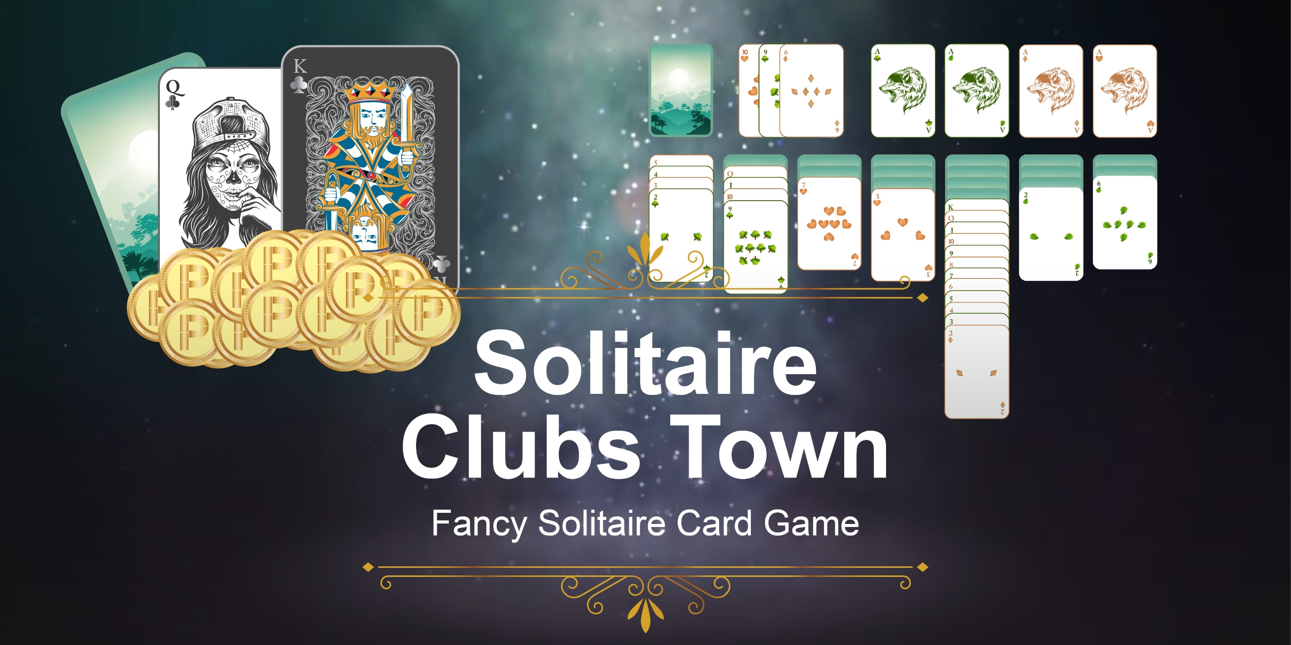 Solitaire Clubs Town - Fancy Solitaire Card Game (@solitaireclubs) Cover Image