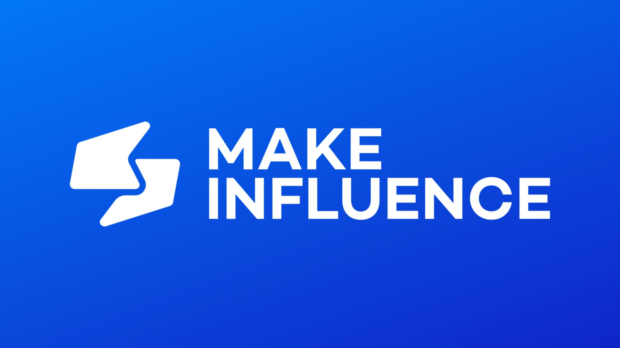 (@makeinfluence) Cover Image