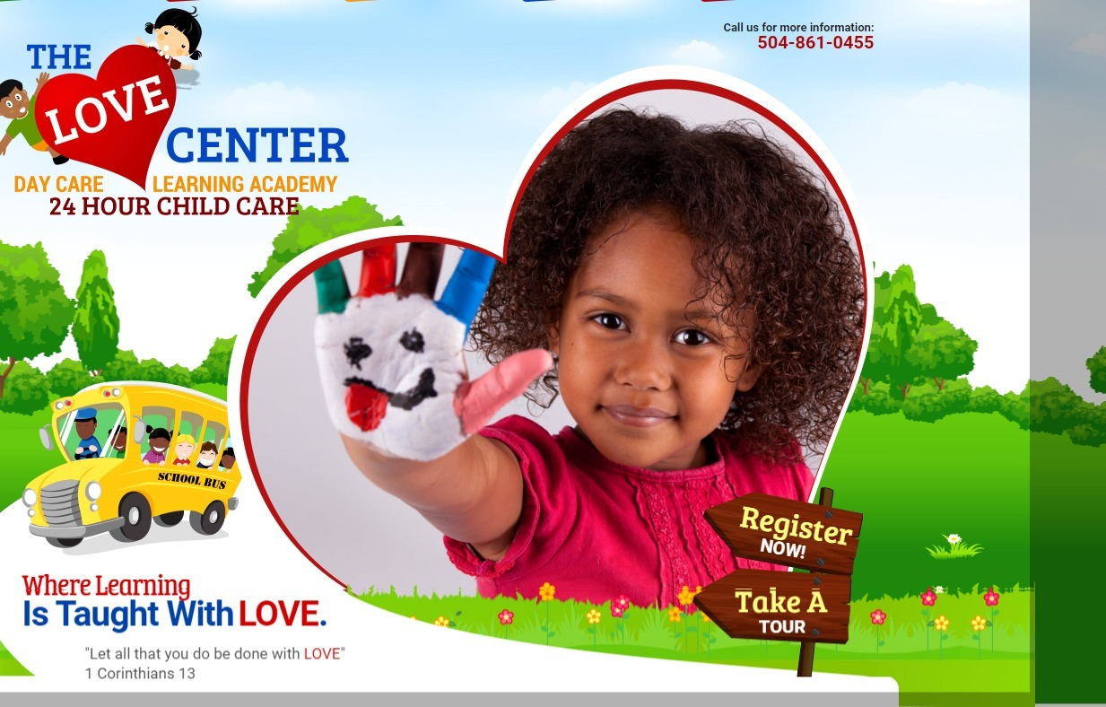 The Love Center Day Care Learning Academy (@lovecenterchildcare) Cover Image