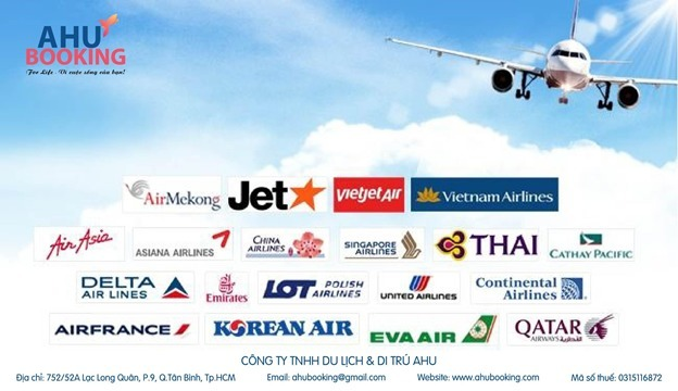 Đại lý vé máy bay Ahubooking (@vemaybayahu) Cover Image