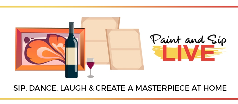 Paint And Sip Live (@paintandsiplive) Cover Image