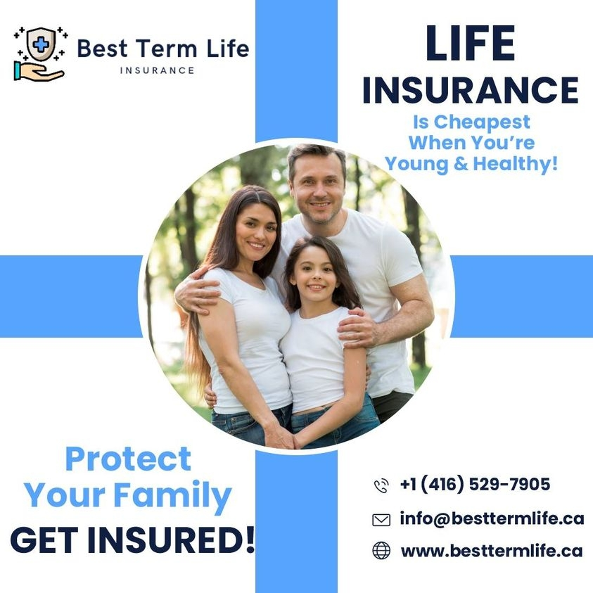Insurance Canada (@besttermlife) Cover Image
