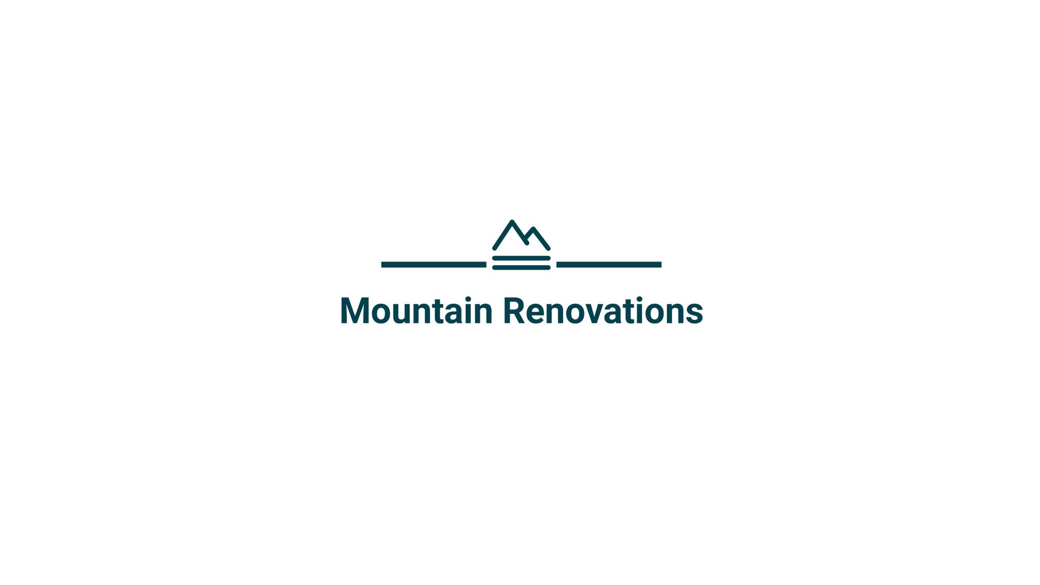 Mountain Renovations (@mountainrenovations) Cover Image