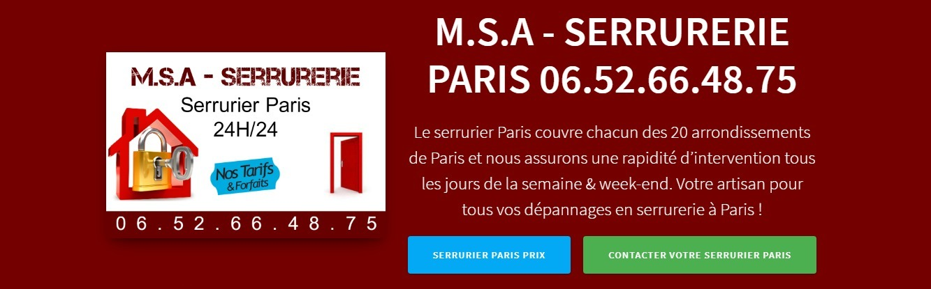 Serrurier (@serrurierparis20) Cover Image