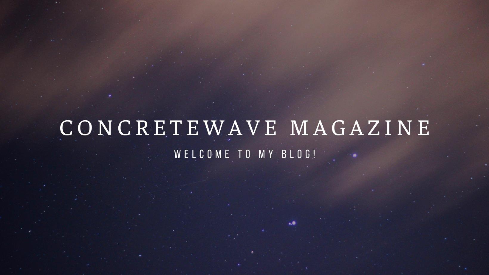 Concretewave Magazine (@cmagazine85) Cover Image
