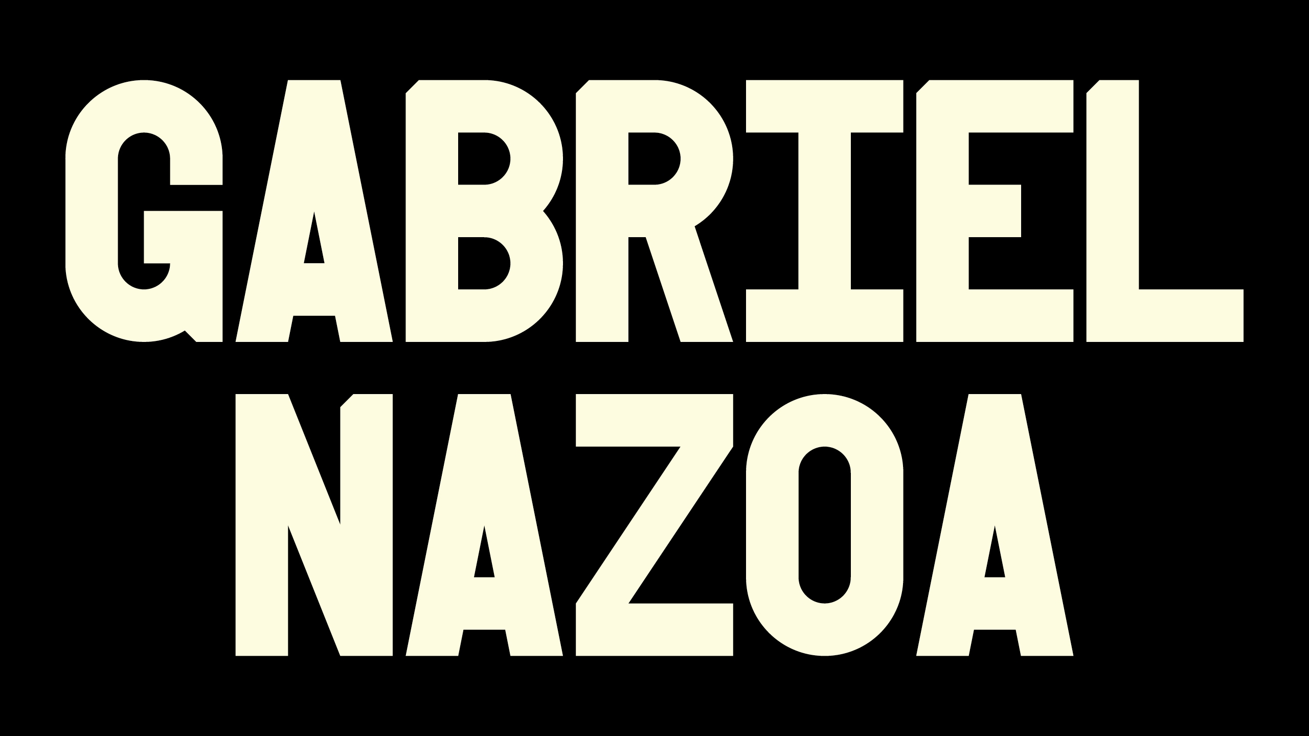 Gabriel Nazoa (@gabrielnazoa) Cover Image