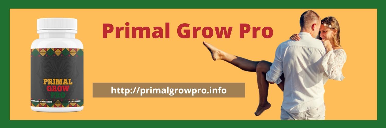 Primal Grow Pro Pills (@buyprimalgrowpro) Cover Image