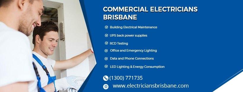 Commercial Electricians Brisbane (@electriciansbrisbane) Cover Image