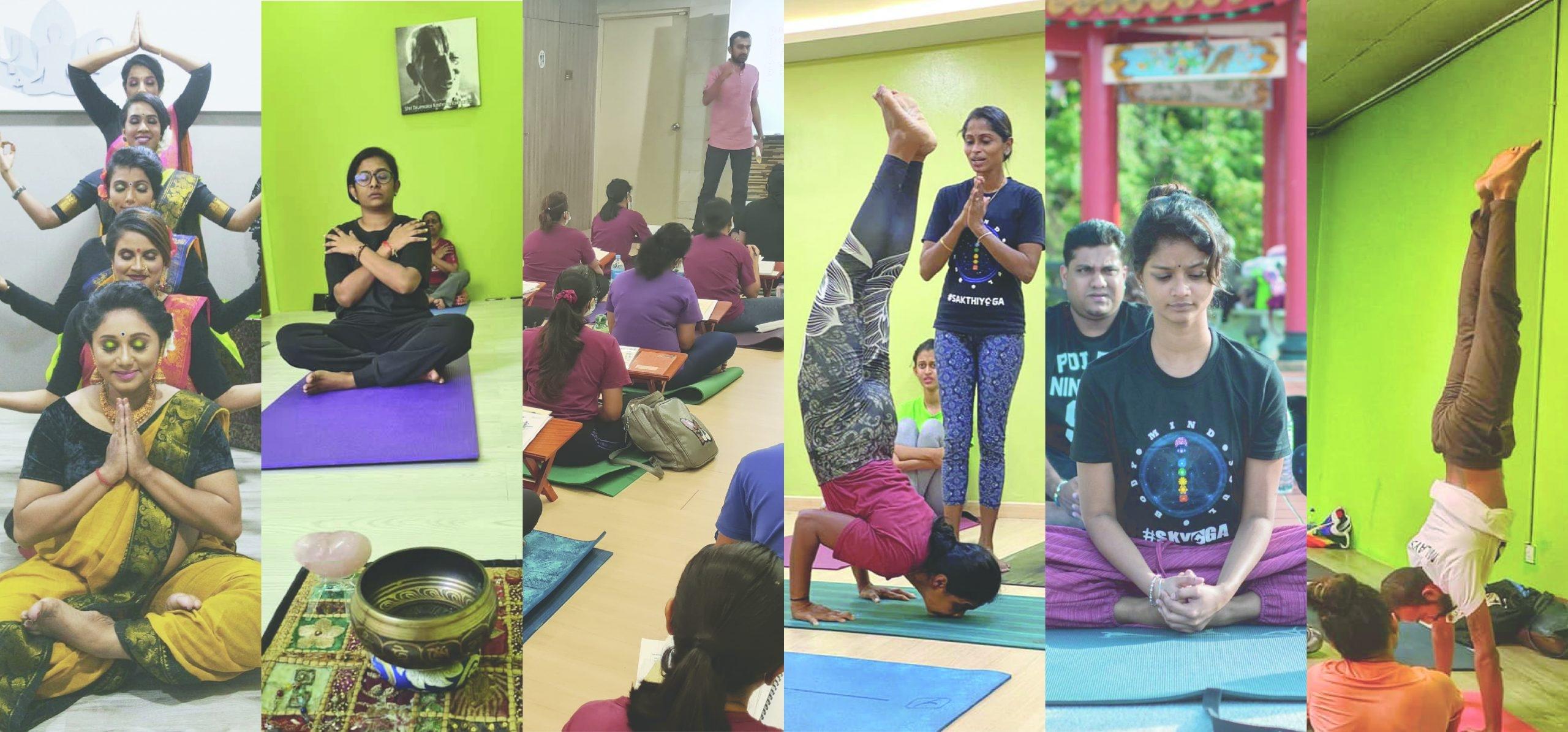 Sakthi School of Yoga (@sakthiyoga) Cover Image