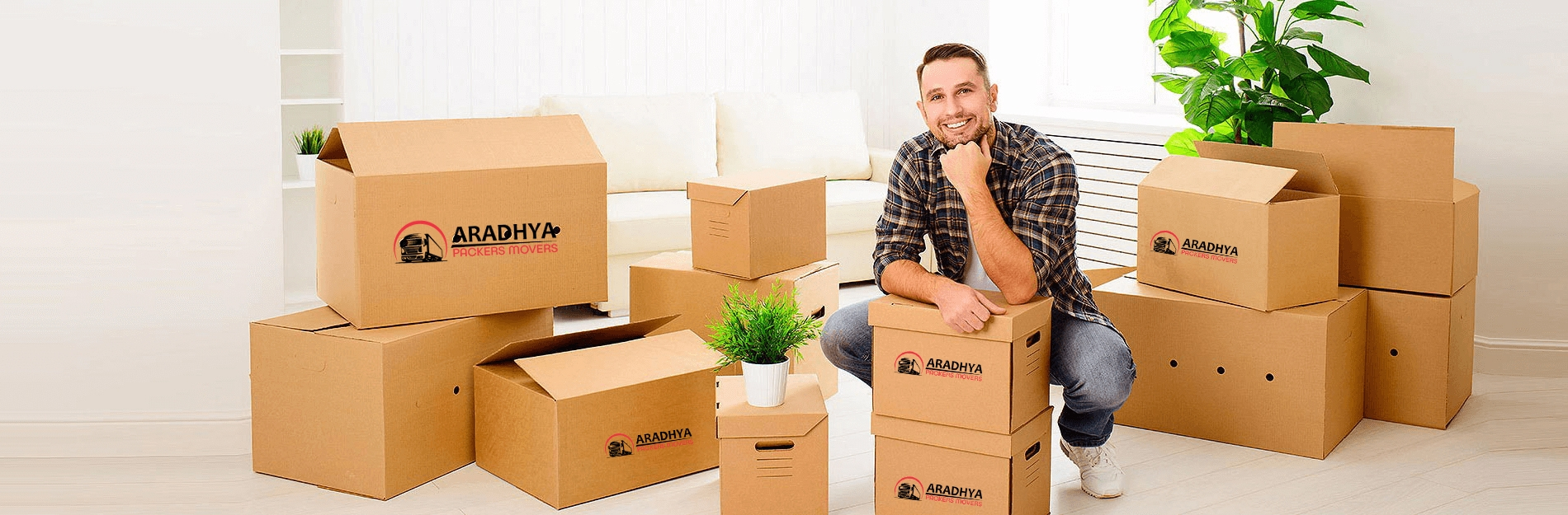 Aradhya Packers And Movers (@aradhyapackersmovers) Cover Image