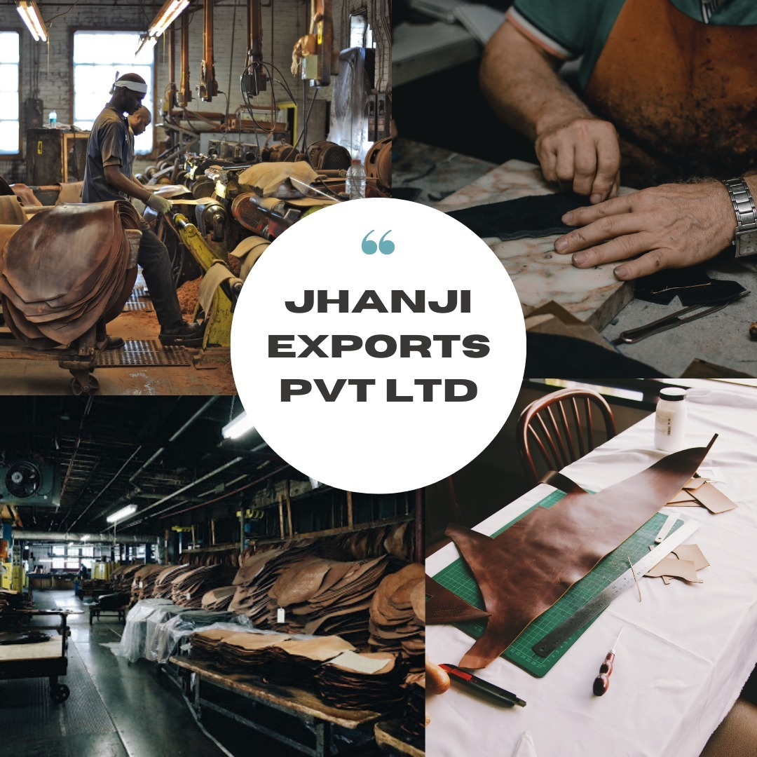 Jhanji Exports Pvt Ltd - Genuine Leather Goods Man (@jhanjiexportspvtltd) Cover Image