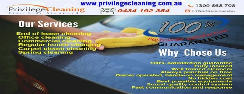 Privilege Cleaning (@privilegecleaningau) Cover Image