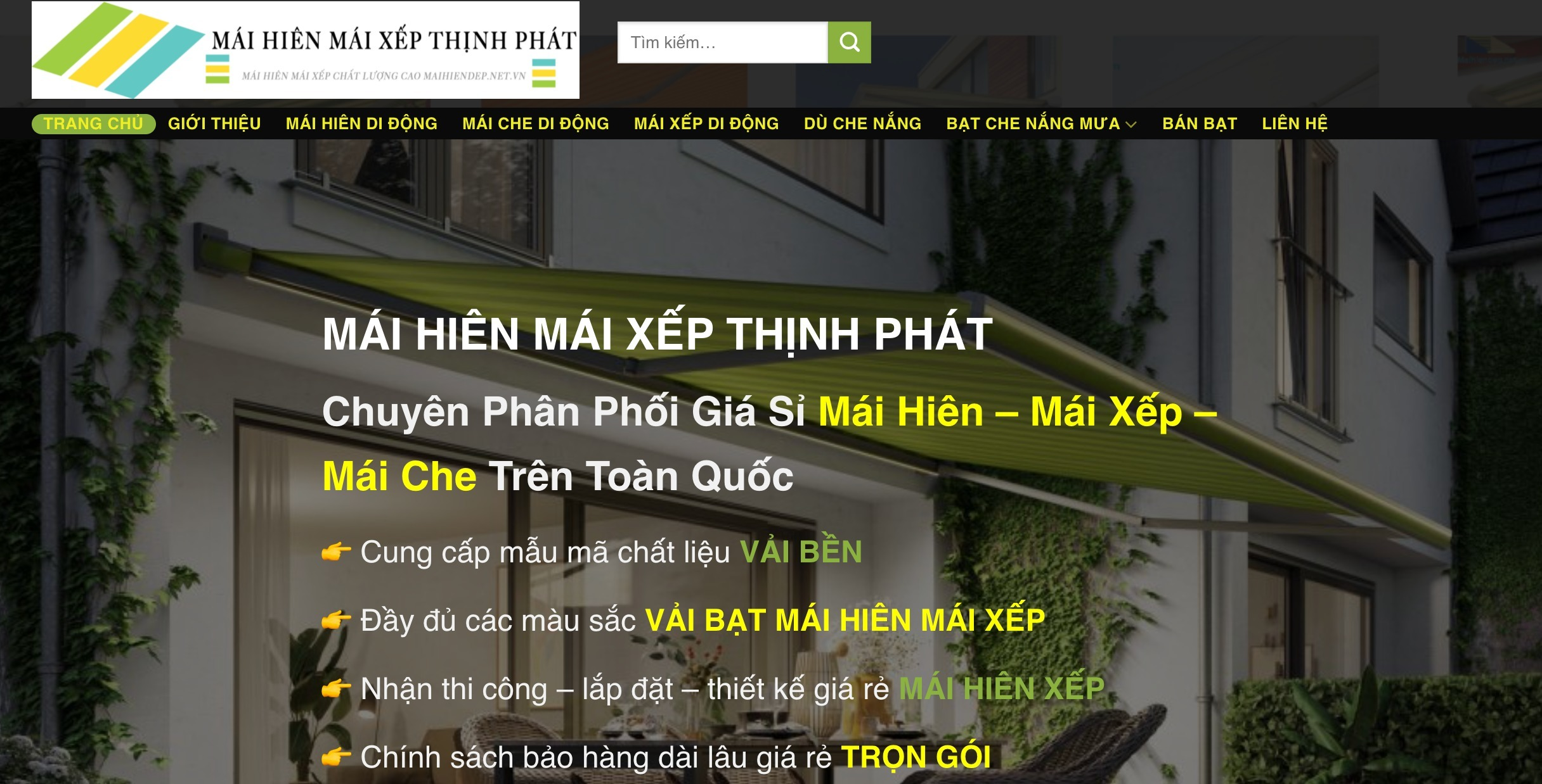 Mái Hiên Mái Xếp Thịnh Phát (@maihienmaixepthinhphat) Cover Image