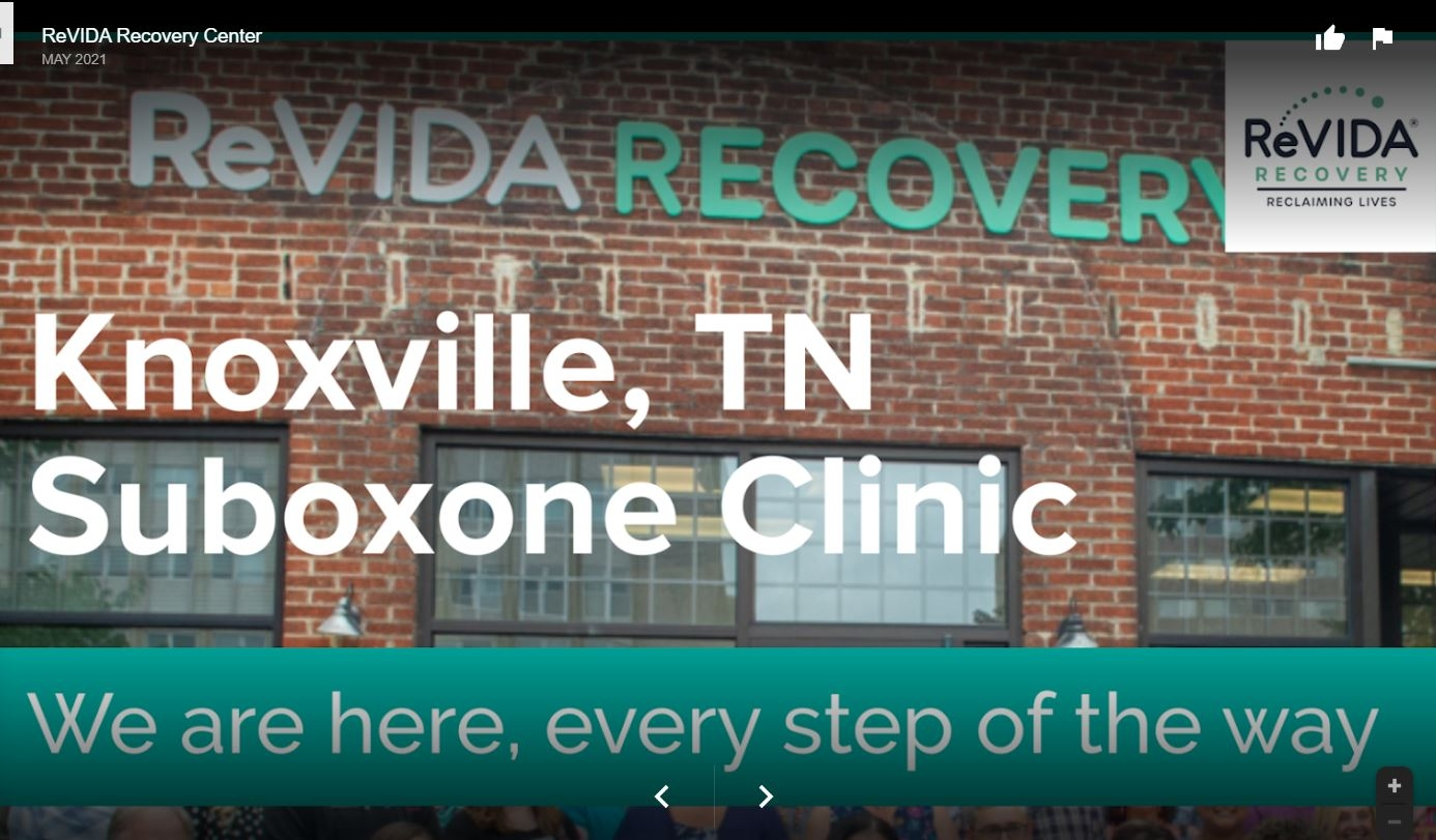ReVIDA Recovery® - Knoxville (@revidaknoxville) Cover Image