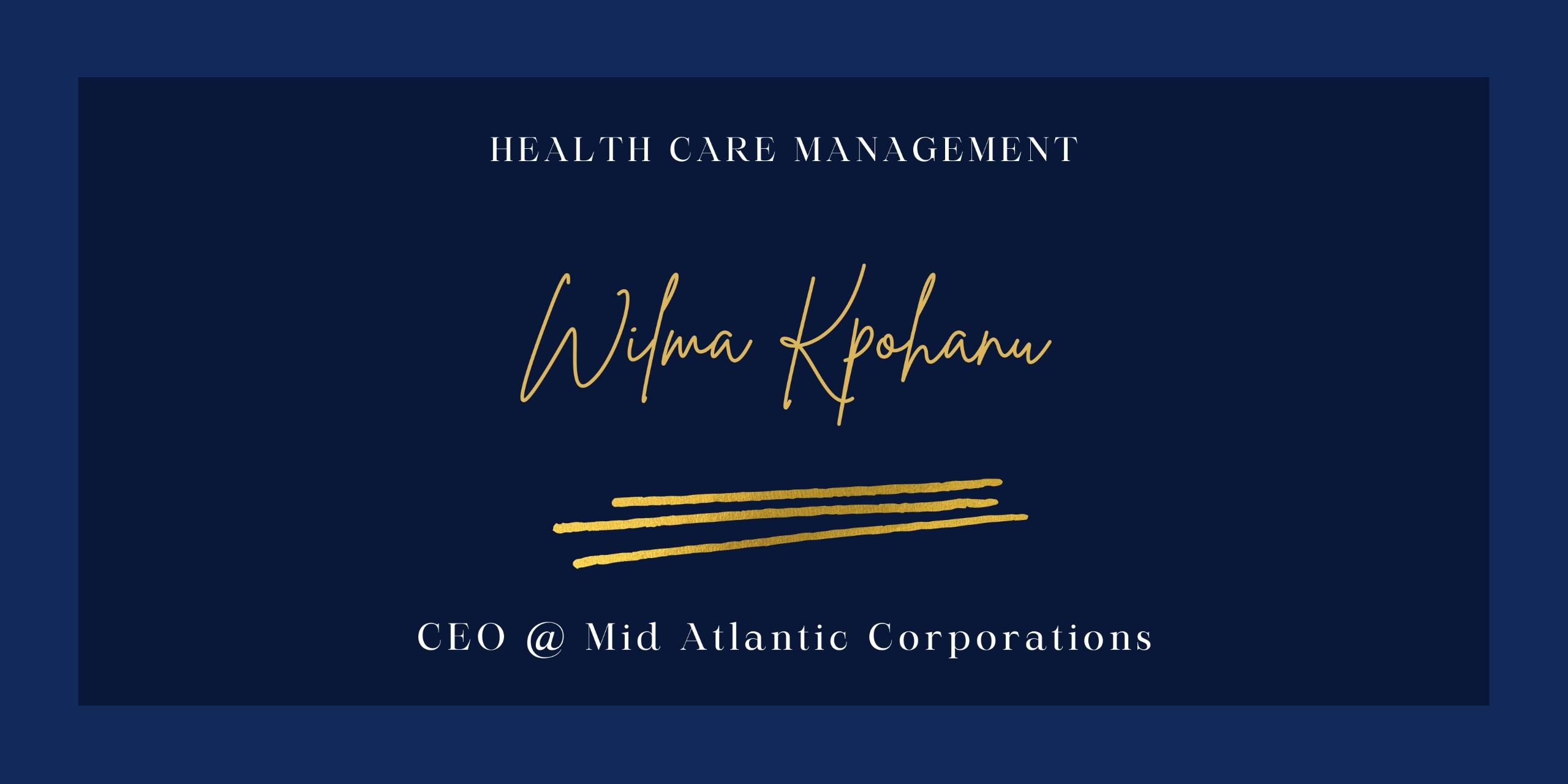 Wilma Kpohanu (@wilmakpohanu) Cover Image