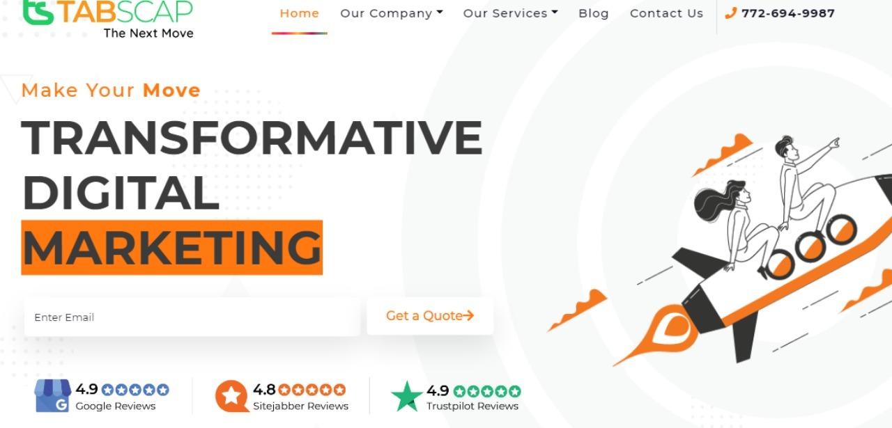 TABSCAP: Digital Marketing & SEO Agency (@undigitalagency0101) Cover Image