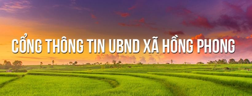 UBND xã Hồng Phong (@xahongphong) Cover Image