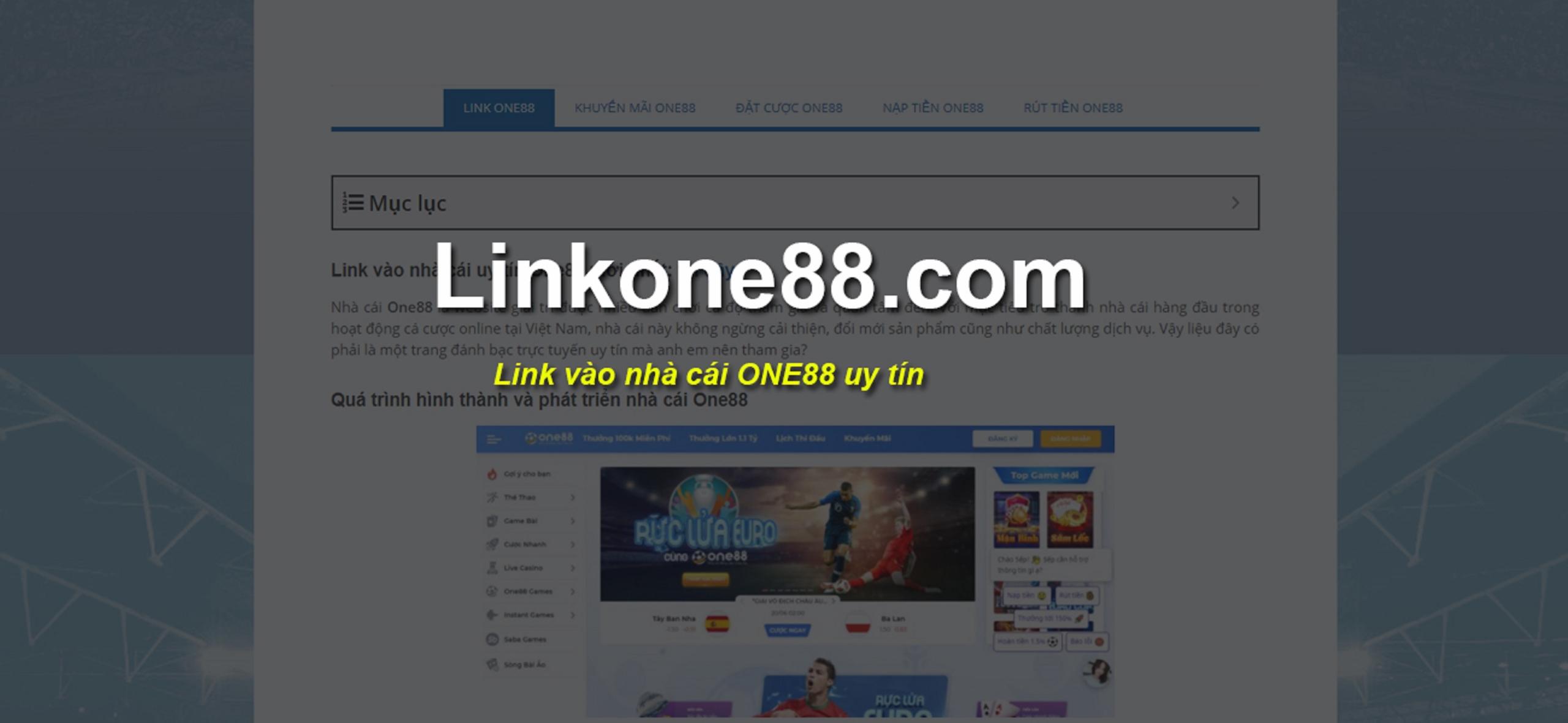 Nha Cai One88 (@nclinkone88) Cover Image