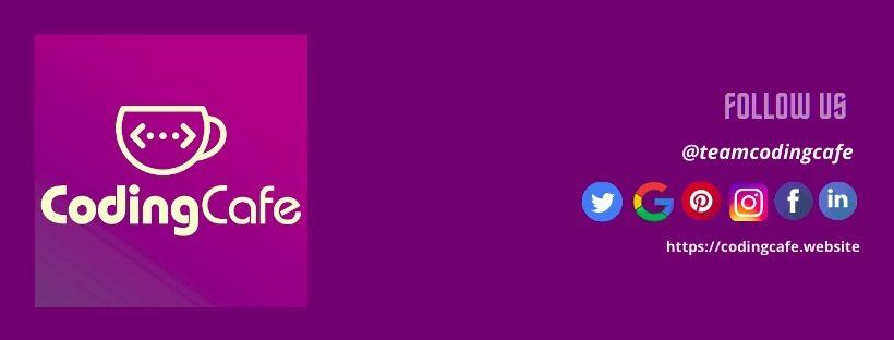 Coding Cafe (@codingcafe) Cover Image